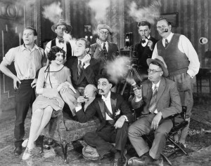 video production - old film scene