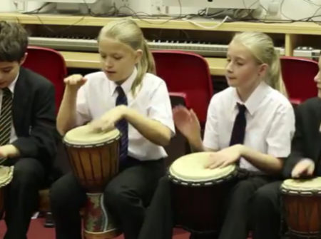 educational group african drumming